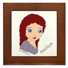 Donna Fox Framed Tile