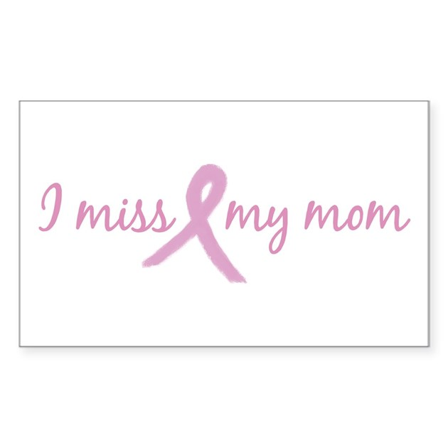 I Miss My Mom (new) Rectangle Decal by worldsfair