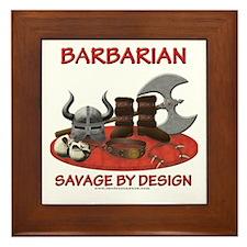 Barbarian Framed Tile