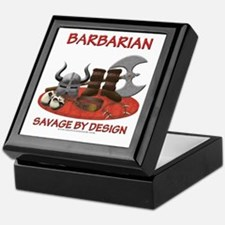 Barbarian Keepsake Box