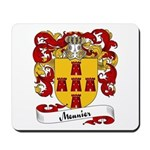 Meunier Family Crest Mousepad