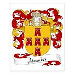 Meunier Family Crest Small Poster