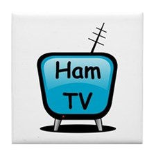 Ham TV Tile Coaster