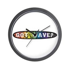RainbowGotWave? Wall Clock