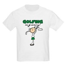 Golfing is Groovy T-Shirt