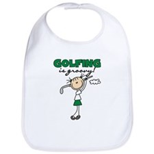 Golfing is Groovy Bib