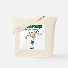 Golfing is Groovy Tote Bag