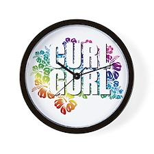 CurlGurl Wall Clock