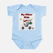 Golf My Other Ride Infant Bodysuit