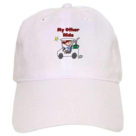 Golf My Other Ride Cap