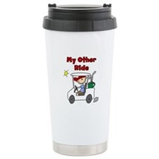Golf My Other Ride Travel Mug
