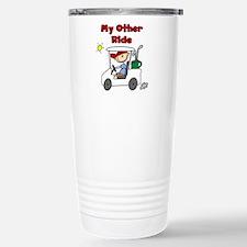 Golf My Other Ride Travel Mug