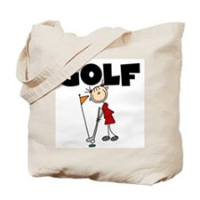 Stick Figure Girls GOLF Tote Bag