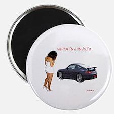 """PORSCHE CARRERA 2.25"""" Magnet (100 pack)"""