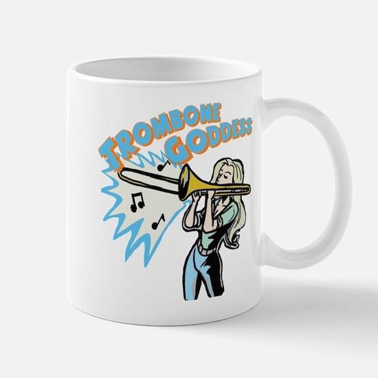 Trombone Goddess Mug