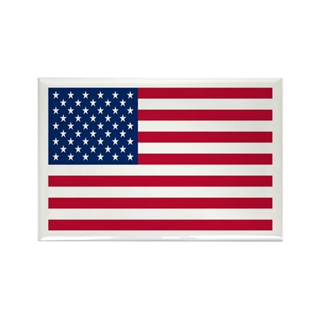 US Flag Rectangle Magnet