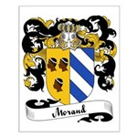 Morand Family Crest Small Poster