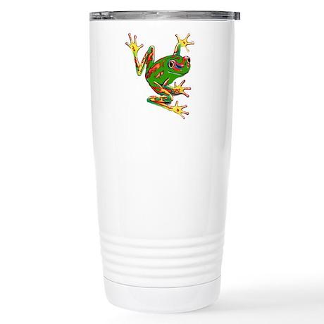 Tree Frog Stainless Steel Travel Mug