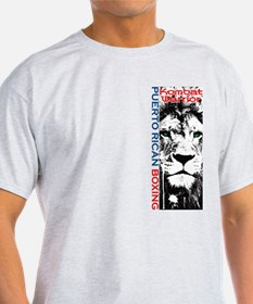 Puerto Rican Boxing Lion T-Shirt