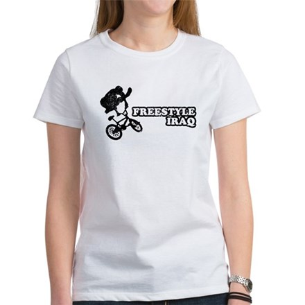 Freestyle Iraq Womens T-Shirt