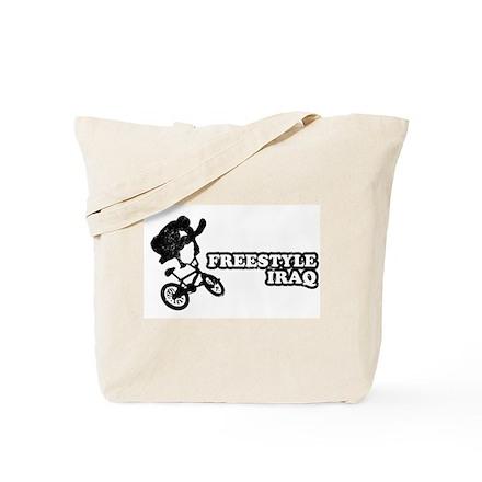 Freestyle Iraq Tote Bag