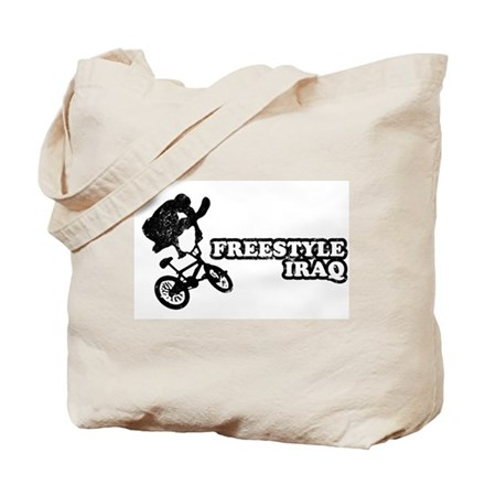 Freestyle Iraq Tote Bag