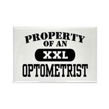 Property of an Optometrist Rectangle Magnet