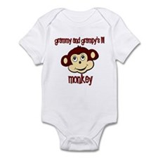 lil monkey Infant Bodysuit