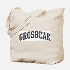 Grosbeak (curve-grey) Tote Bag