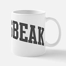 Grosbeak (curve-grey) Mug