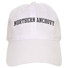 Northern Anchovy (curve-grey) Baseball Cap