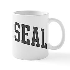 Grey Seal (curve-grey) Mug