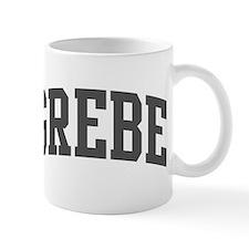 Grebe (curve-grey) Mug
