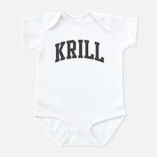 Krill (curve-grey) Infant Bodysuit