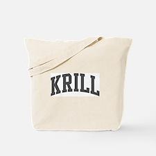 Krill (curve-grey) Tote Bag