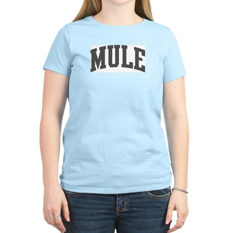 Mule (curve-grey) Women's Light T-Shirt