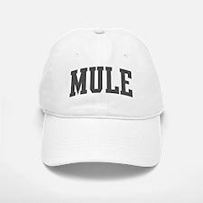Mule (curve-grey) Baseball Baseball Cap