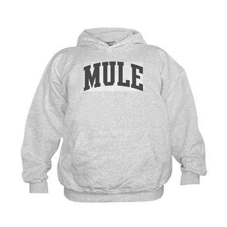 Mule (curve-grey) Kids Hoodie