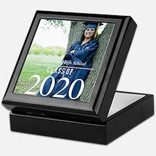 Custom Graduation Photo Class of 2017 Keepsake Box