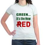 Green is Red Jr. Ringer T-Shirt