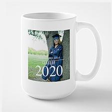 Custom Graduation Photo Class of 2017 Mugs