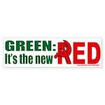 Green is Red Bumper Sticker (50 pk)