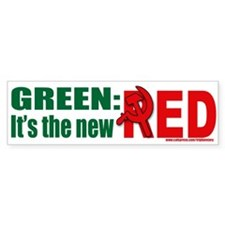 Green is Red Bumper Bumper Sticker