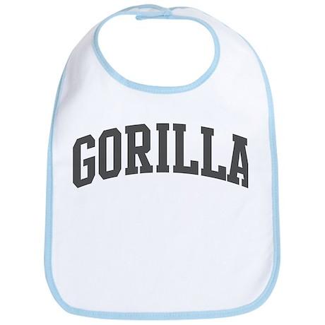 Gorilla (curve-grey) Bib