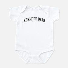 Kermode Bear (curve-grey) Infant Bodysuit