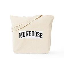 Mongoose (curve-grey) Tote Bag