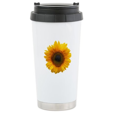 Sunflower Stainless Steel Travel Mug