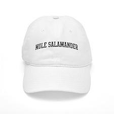 Mole Salamander (curve-grey) Baseball Cap