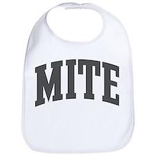 Mite (curve-grey) Bib