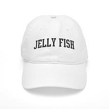 Jelly Fish (curve-grey) Baseball Cap